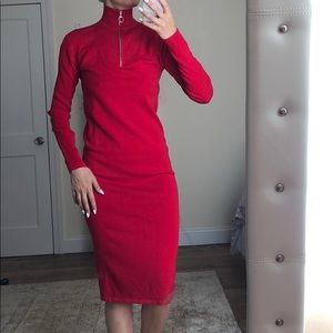 ASOS red dress S